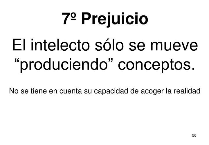 7º Prejuicio