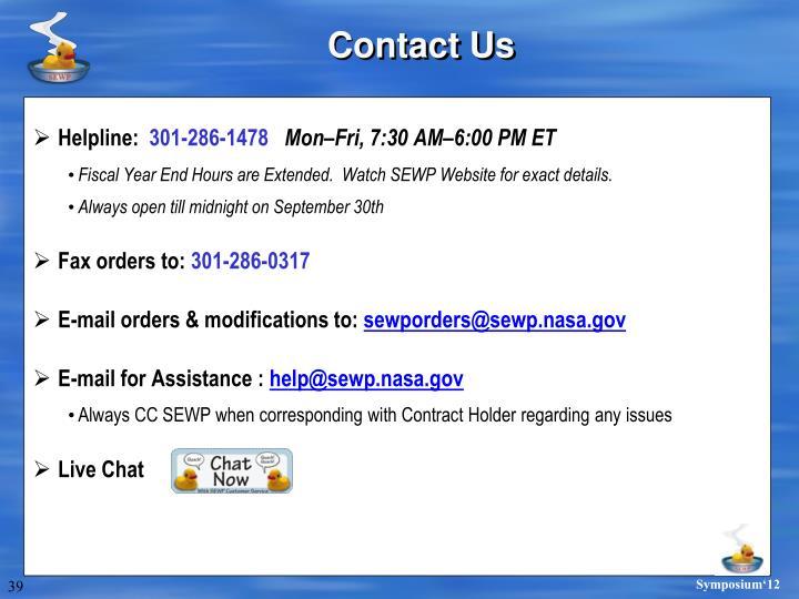 Helpline: