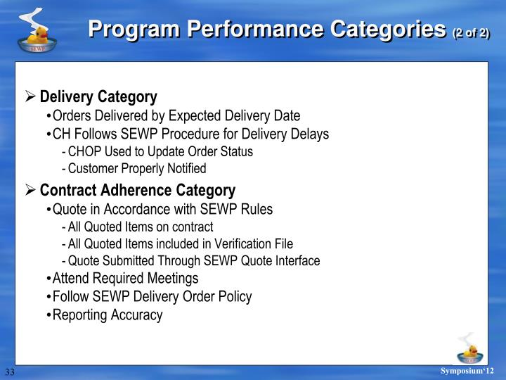 Delivery Category