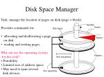 disk space manager