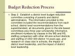 budget reduction process1