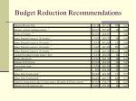 budget reduction recommendations4