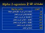2 alpha 2 agonists2