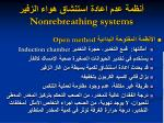 nonrebreathing systems