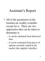 assistant s report1