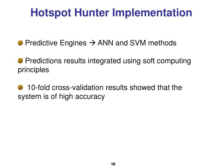 Hotspot Hunter Implementation