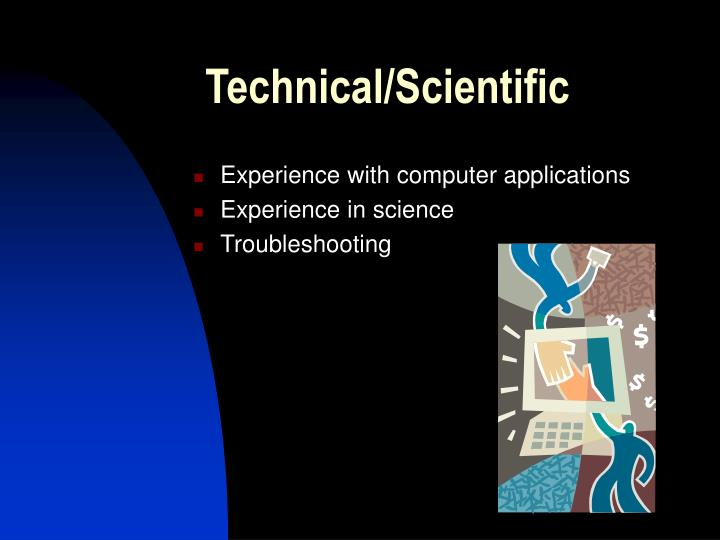 Technical/Scientific