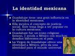 la identidad mexicana