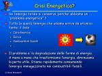 crisi energetica