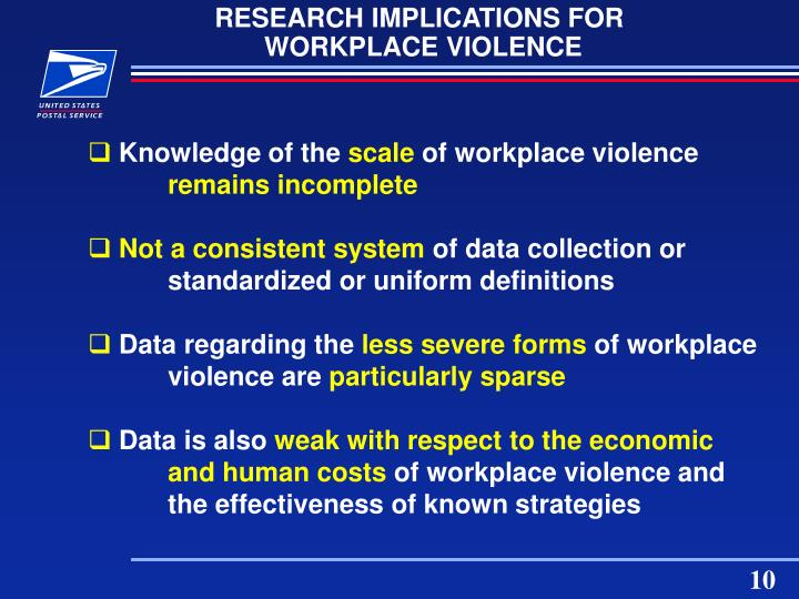 RESEARCH IMPLICATIONS FOR