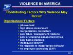 violence in america1