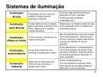sistemas de ilumina o