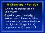 ib chemistry revision10