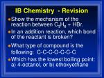 ib chemistry revision11