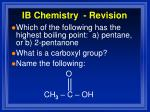 ib chemistry revision14