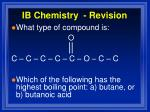 ib chemistry revision18