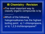 ib chemistry revision3
