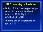 ib chemistry revision8