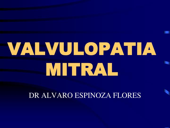 valvulopatia mitral n.