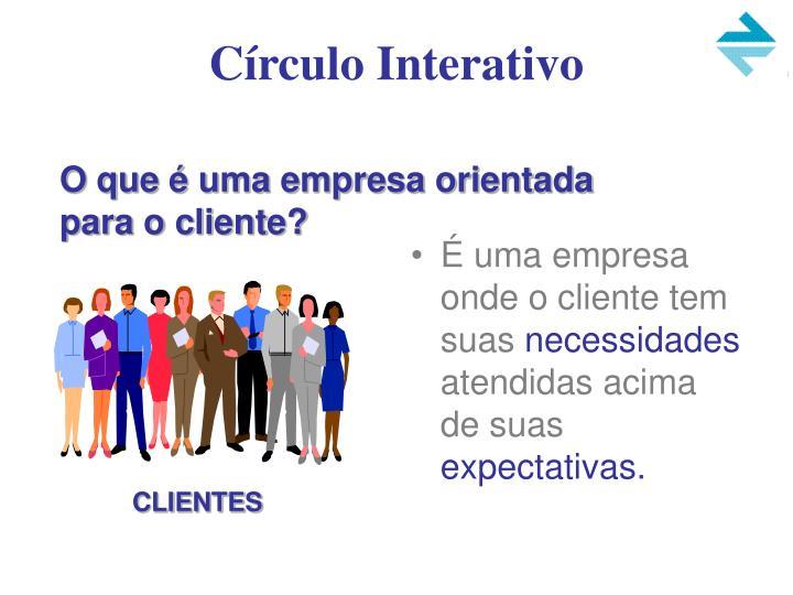 Círculo Interativo