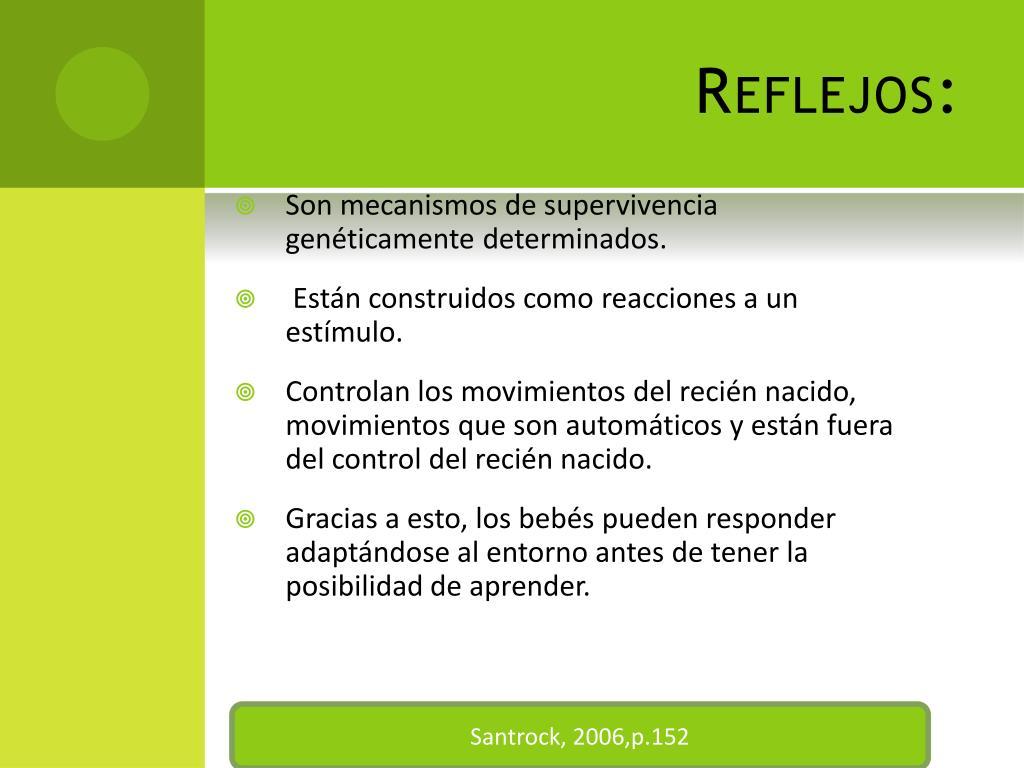 Reflejos: