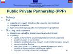 public private partnership ppp