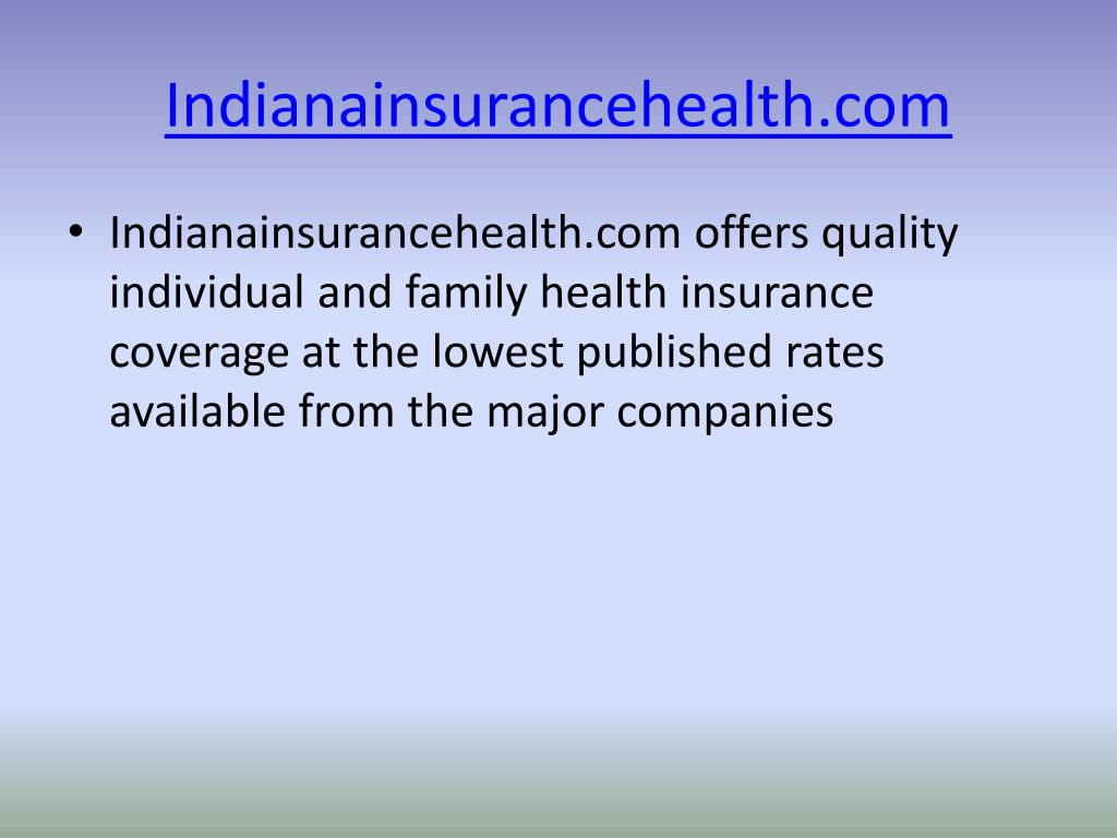 indianainsurancehealth com l.
