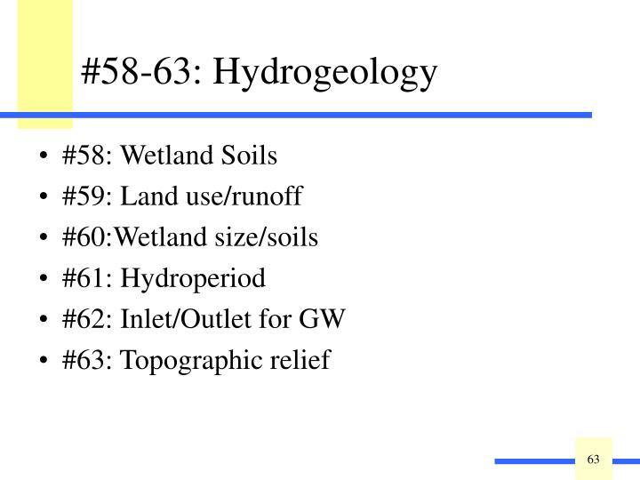 #58: Wetland Soils