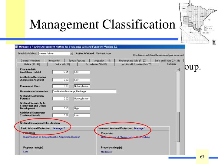 A standard method for assessing MnRAM results, endorsed by the MnRAM Workgroup.