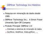 dbminer technology inc hist rico