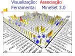 visualiza o associa o ferramenta mineset 3 0