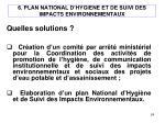 6 plan national d hygiene et de suivi des impacts environnementaux1