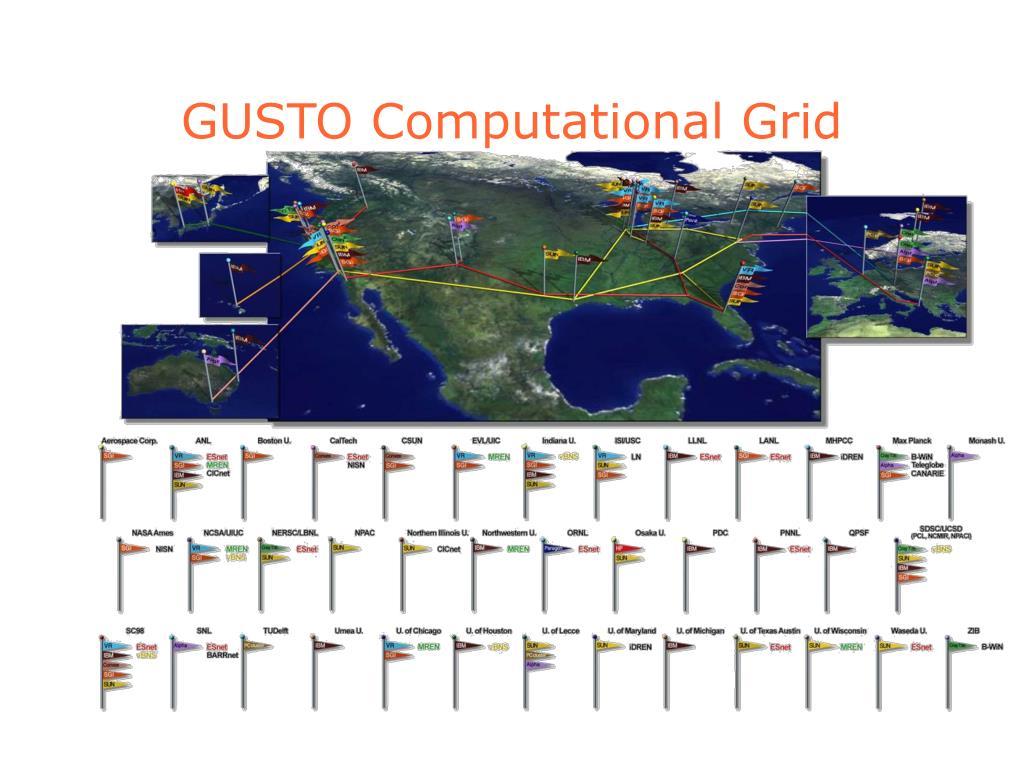 GUSTO Computational Grid
