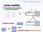 linear stability1