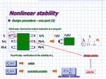 nonlinear stability11
