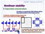 nonlinear stability17