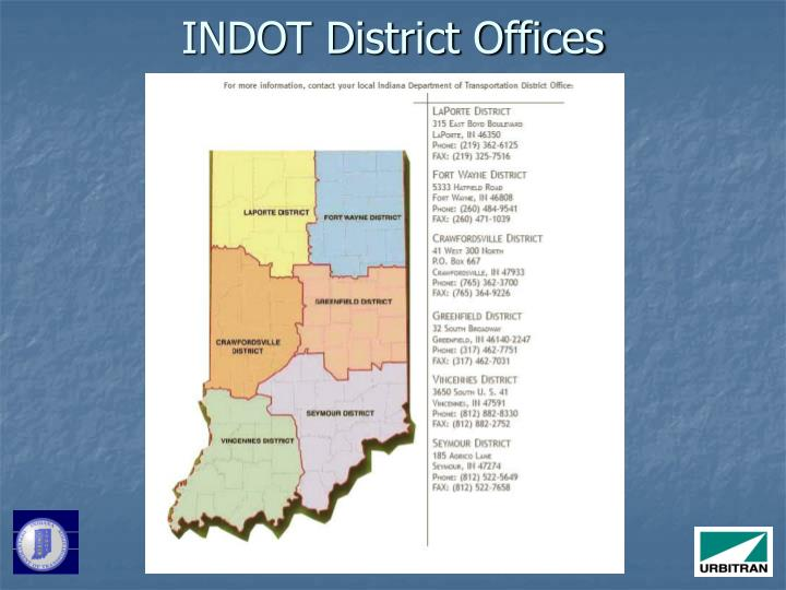 INDOT District Offices