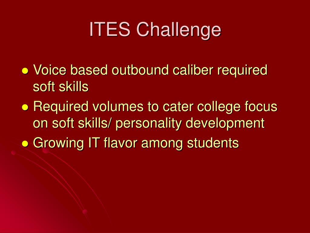 ITES Challenge