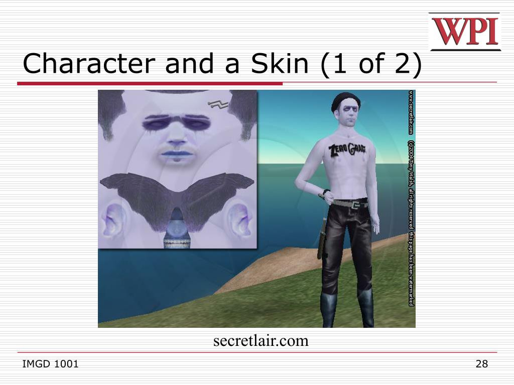 Character and a Skin (1 of 2)