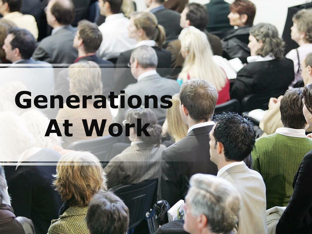 generations at work l.