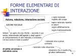 forme elementari di interazione