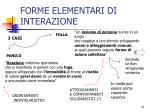 forme elementari di interazione15