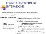 forme elementari di interazione21