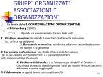 gruppi organizzati associazioni e organizzazioni5