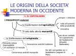 le origini della societa moderna in occidente1