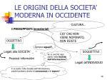 le origini della societa moderna in occidente2