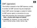 cmf operation