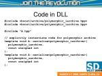 code in dll
