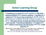action learning group