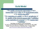 guild model